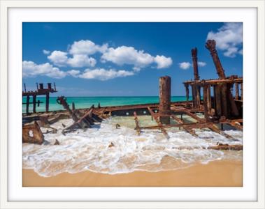 Coastal Prints - Maheno Shipwreck