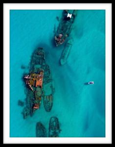 Coastal Prints - Shipwrecked