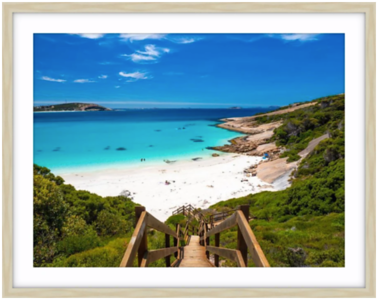 Coastal Prints - Blue Haven Beach Esperance