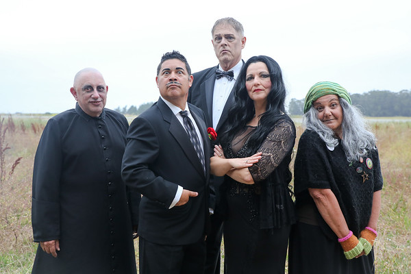 Addams Family Publicity, July 2017