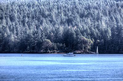 Coastal Scene - Maple Bay, Vancouver Island, BC, Canada