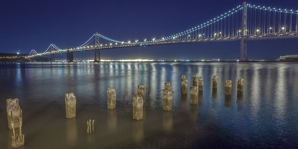 Bay Bridge, Night