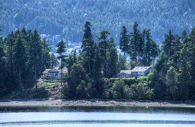 Oceanfront Homes - Vancouver Island, British Columbia, Canada