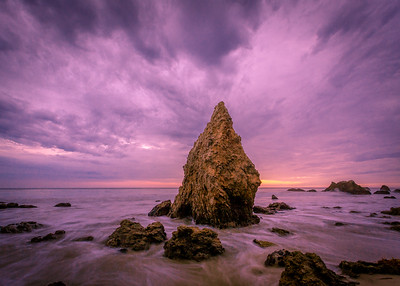 Monsoon Sea Stack, Matador Beach