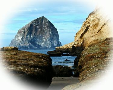 Pacific City's Haystack Rock