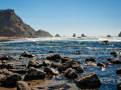Scenic Oregon Coastline