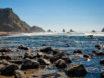 Scenic Oregon Coastline