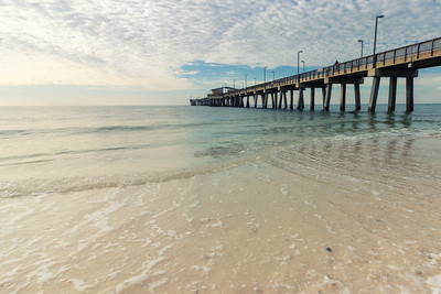Wading in the Gulf of Mexico