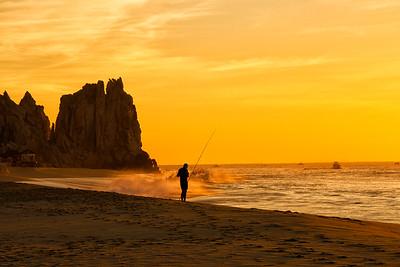 Shore Fishing in Cabo San Lucas