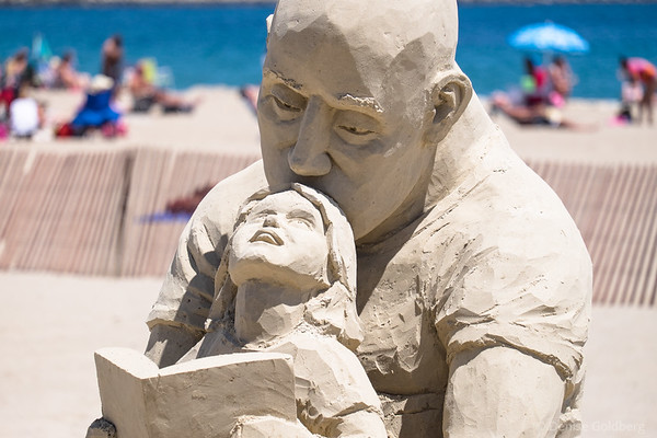 sand sculpture by Carl Jara
