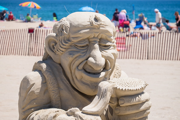 sand sculpture by Justin Gordon
