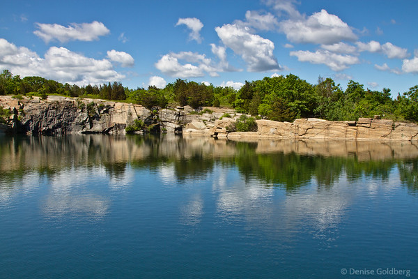 reflections, at Halibut Point State Park