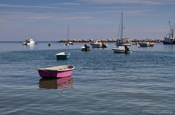 boats along the New Hampshire coast