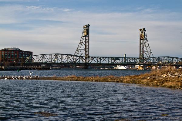 (original) Memorial Bridge, Portsmouth, NH