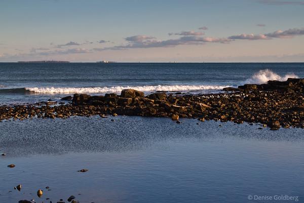 ocean view, New Hampshire coast