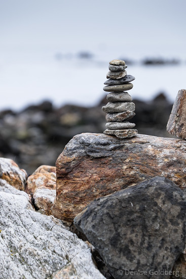 stacked rock sculpture