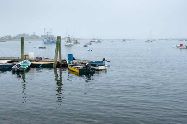 boats in Rye Harbor