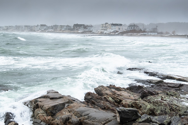 one hour before high tide, New Hampshire coast