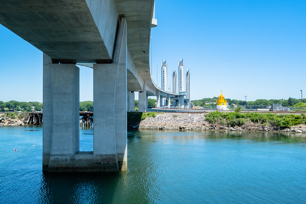 Sarah Mildred Long Bridge, Portsmouth, NH