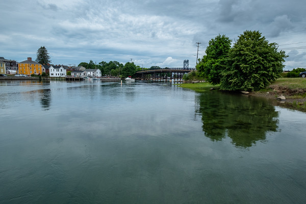 looking across the Piscataqua River, Portsmouth, NH