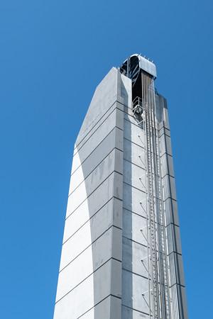 lift bridge towers