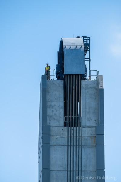 lift bridge tower