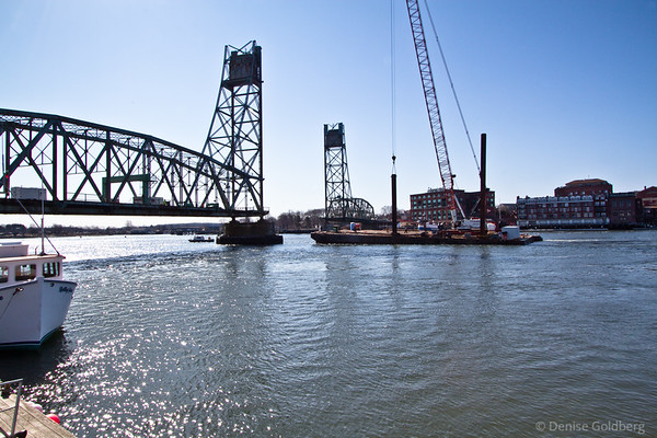 Memorial Bridge deconstruction, Portsmouth / Kittery