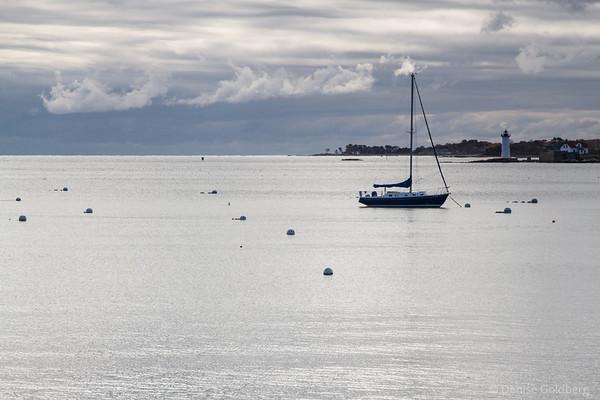 sailboat on a quiet sea