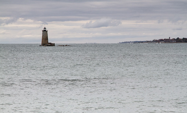 lighthouse Fort Foster park, Kittery Point
