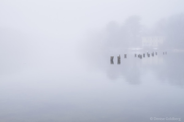 kittery Point, in the fog