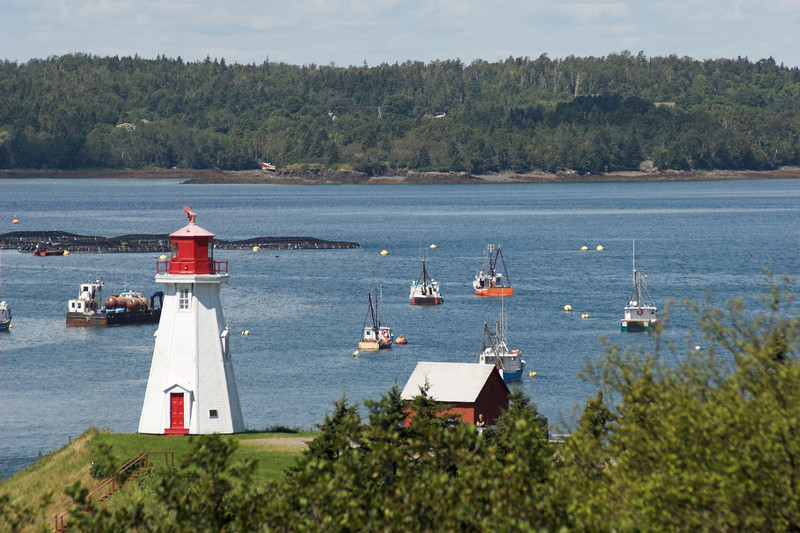 Mulholland Light, Campobello Island, New Brunswick, Canada