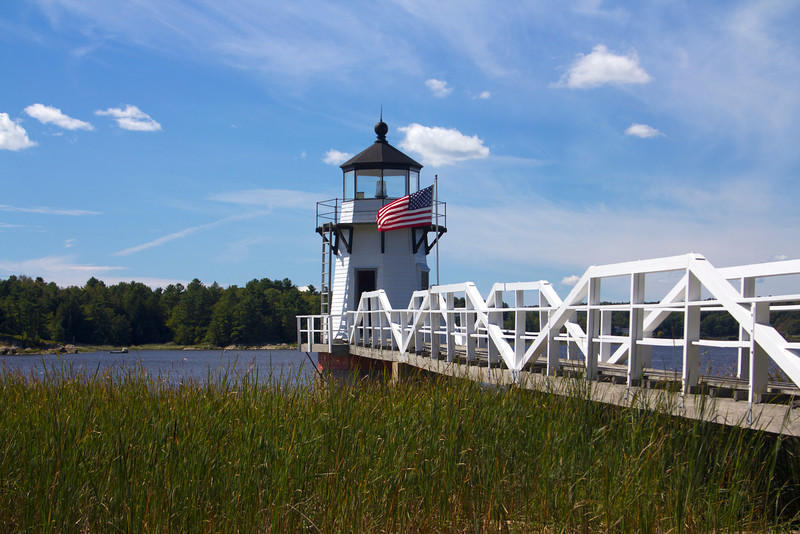 Doubling Point Light, Arrowsic Island, Maine