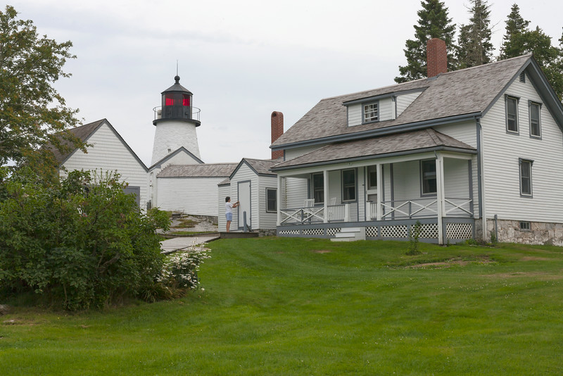 Burnt Island Light and Keepers House