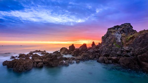 Te Arai Point Sunrise