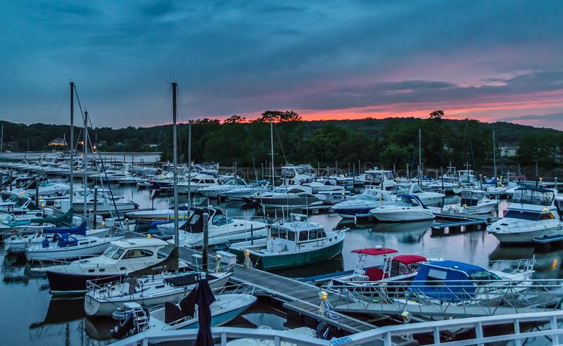 Sunset on the Docks