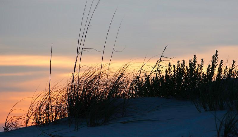 beach at sunset, Seabrook Island, South Carolina