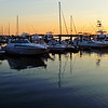Seabrook Island Marina at sunset, June 2010