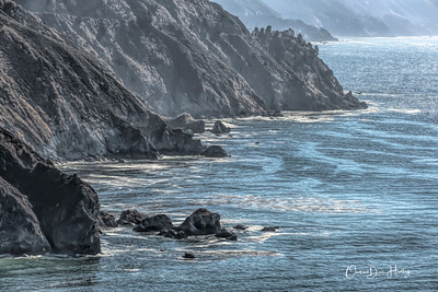 Big Sur Rocky Coast