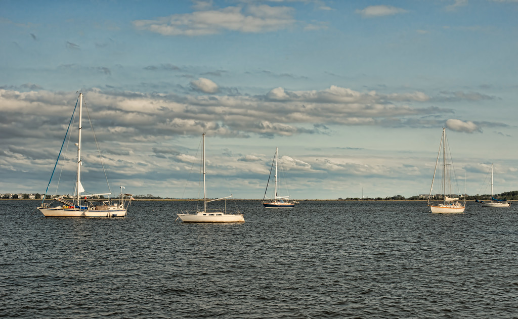 Afternoon on the Sound in the Outer Banks of North Carolina
