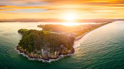 Sunset over Bowentown