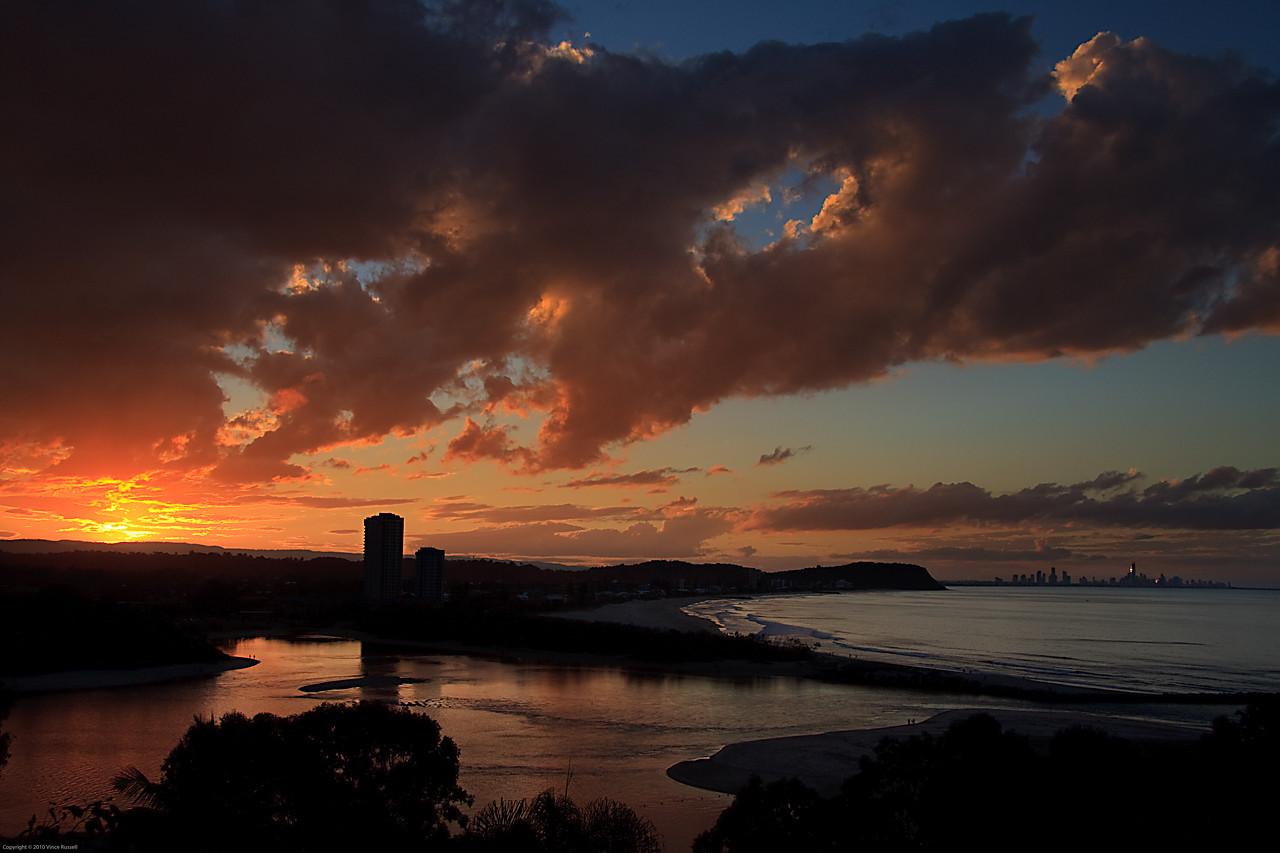 Currumbin Sunset, Gold Coast, Australia