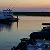 dusk at the marina, Seabrook Island, South Carolina