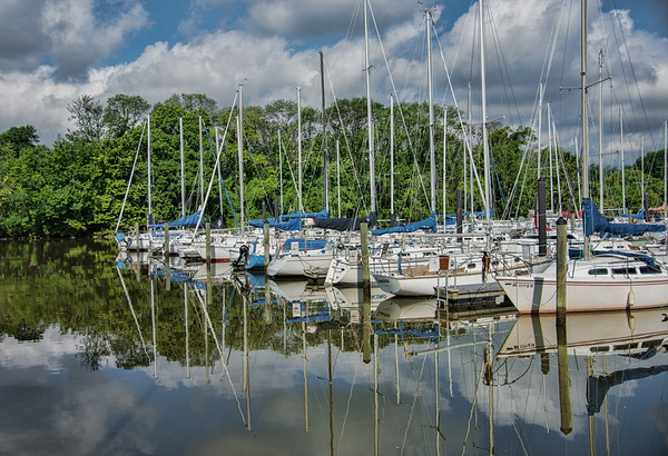 Marina- Alexandria on Potomac River