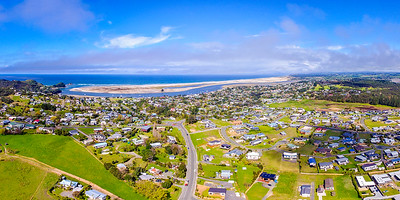Aerial View of Mangawhai Heads