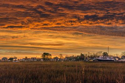 November Dawn Over Leipsic