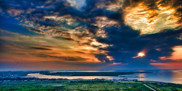 Pelican Island Sunset