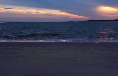 Seabrook Island at sunset