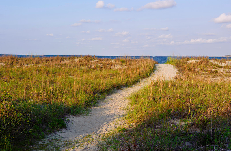 path to the beach, Seabrook Island, South Carolina