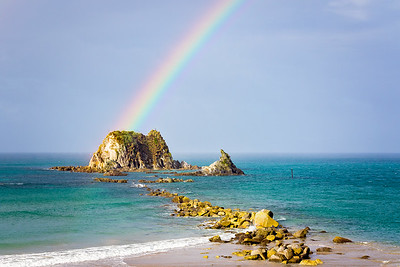 Rainbow's End, Head Rock, Mangawhai Heads