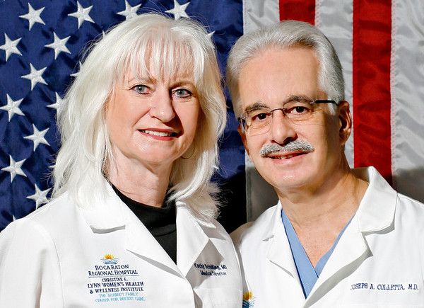 Dr. Colletta and Dr. Schilling
